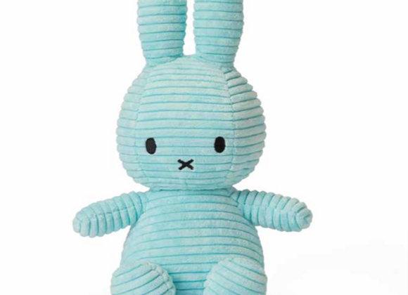 Turquoise Corduroy Miffy 24cm