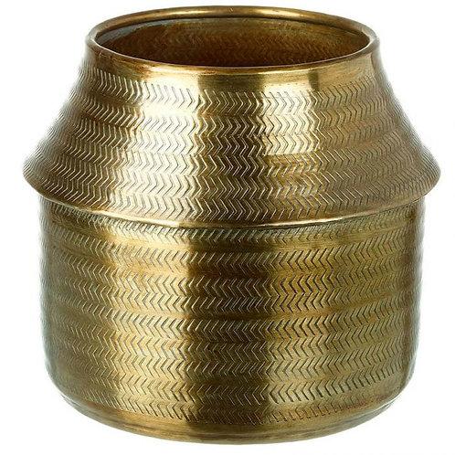 Bronze Aluminium planter pot