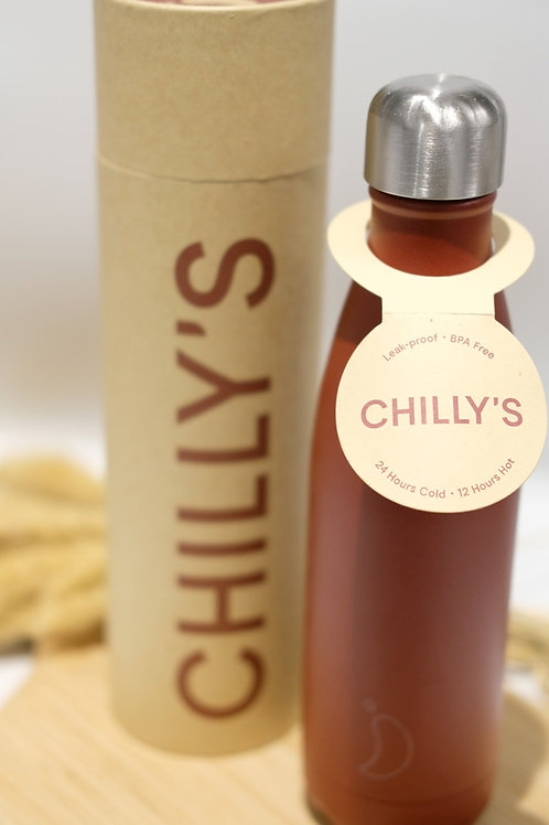 Chilly's Bottle Bright Red 500ml