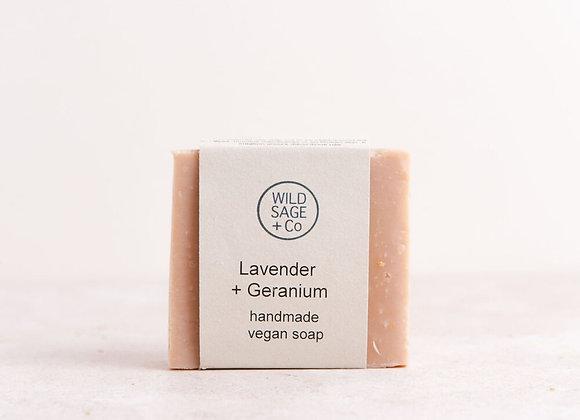 Lavender + Geranium Soap Bar