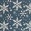 Thumbnail: 'Snowflake' Wrapping paper