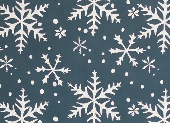 'Snowflake' Wrapping paper