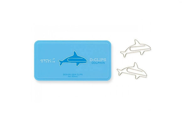 Dolphin Paper Clips