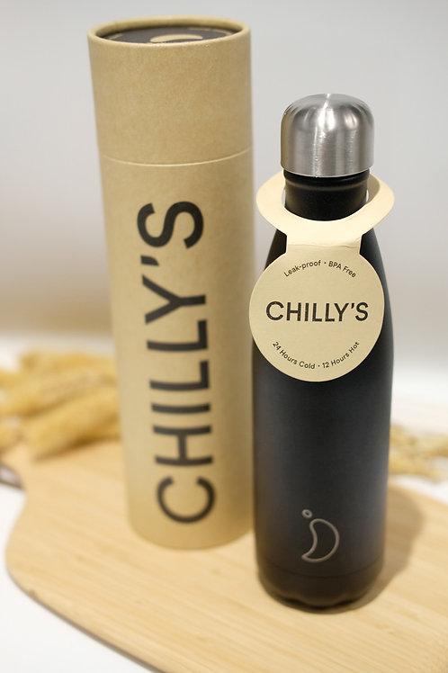 Chilly's Bottle Matte Black 500ml