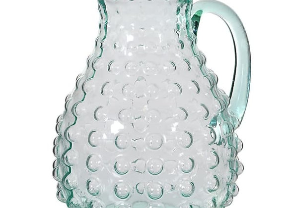 Green Bubble Pitcher
