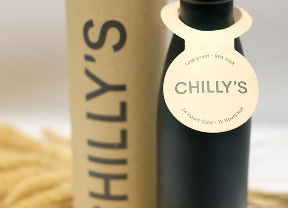 Chilly's Bottle Deep Matt Green 500ml