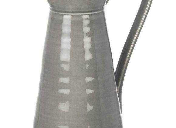 Ceramic Pitcher Grey
