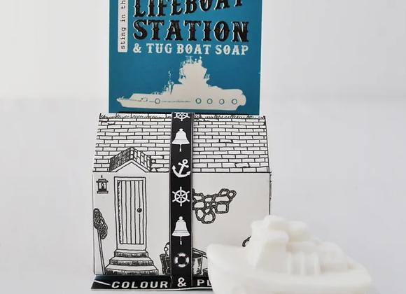 Life boat station & Tug boat soap