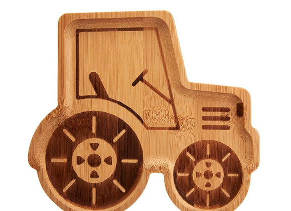Bamboo Tractor Plate