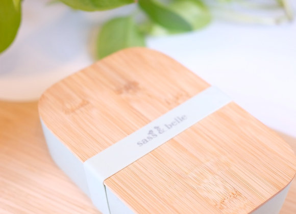 Bamboo Lunch Box - Mint Green