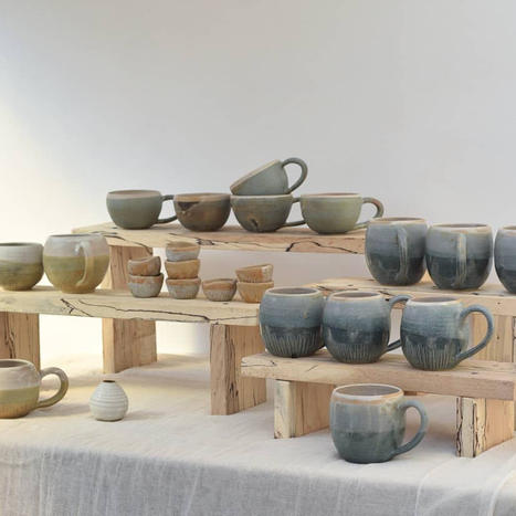 Selection of Stoneware Mugs and Cups