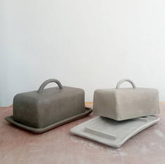 Drying Butter Dishes