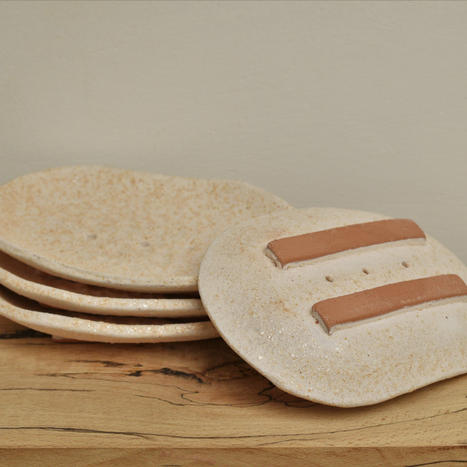 Earthenware Soap Dishes