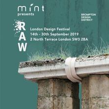 Raw, London Design Festival 2019, Mint