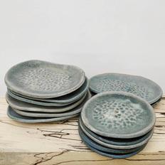 Stoneware Soap Dishes