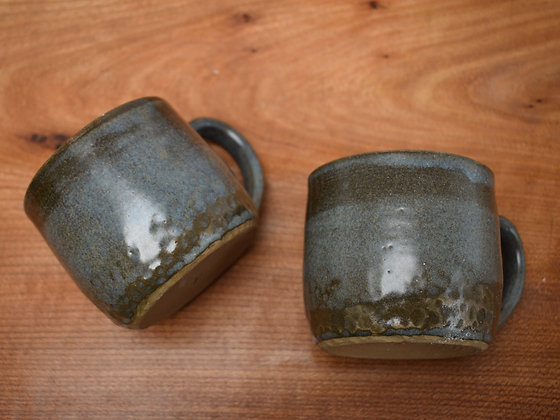 Blue Grey Mugs