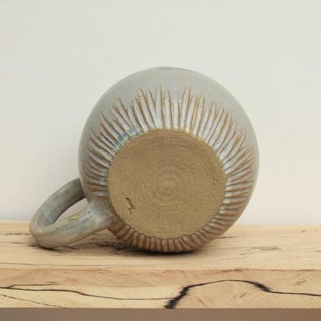 Textured Stoneware Mug