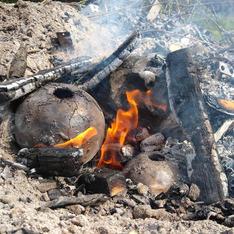 Bonfire-firing
