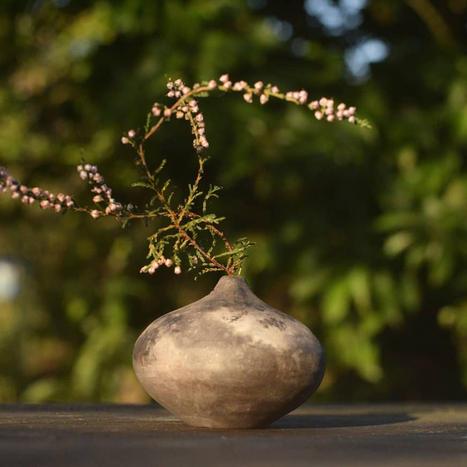 Bonfire Bud Vase