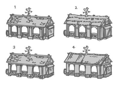 Might & Blade – Building Concept Art