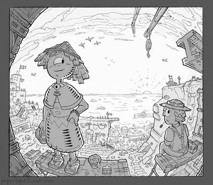 Environmental Illustration –Perspective Study