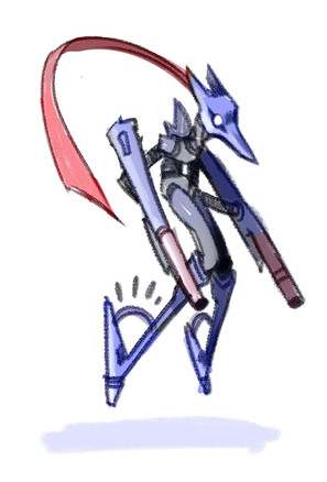 Character Art – Hoverblast Robot
