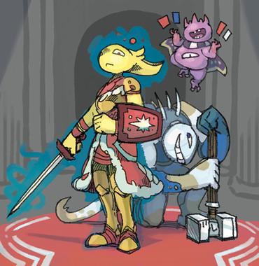 Character Art – Miniboss Awaiting
