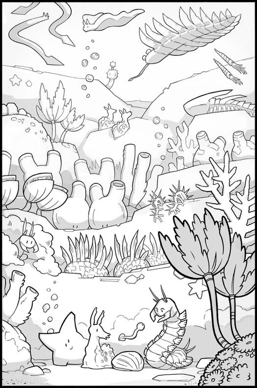 Siona's Tale – Interior Illustration