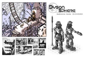 Dyson Sphere – Concept Board