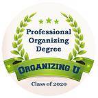 Organizing U - Degree Program Badge 2020