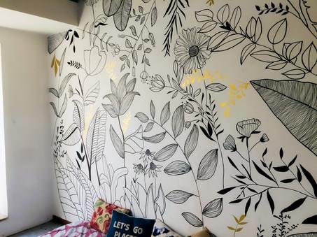 Nature theme wall art