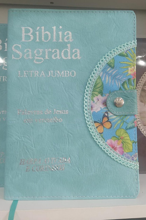 BÍBLIA LETRA JUMBO - RC - MODELO AGENDA + CANETA