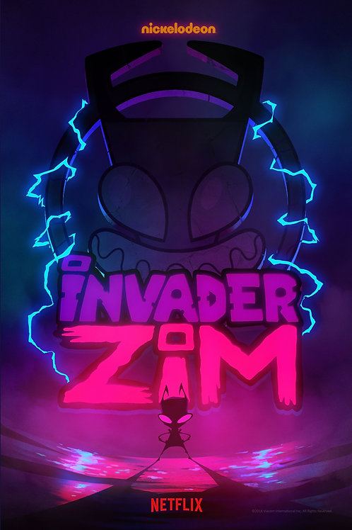 Invader ZIM, Decal Poster