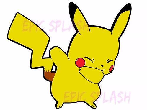 Pikachu Dab Decal