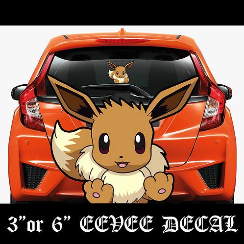 EEVEE Pokemon Decal