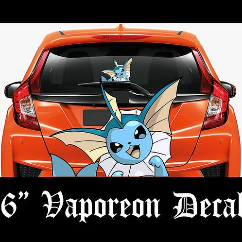 VAPOREON Pokemon Decal