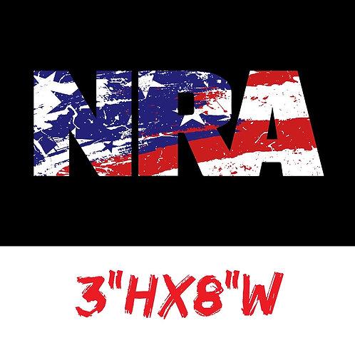 NRA USA Decal