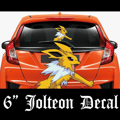 JOLTEON Pokemon Decal