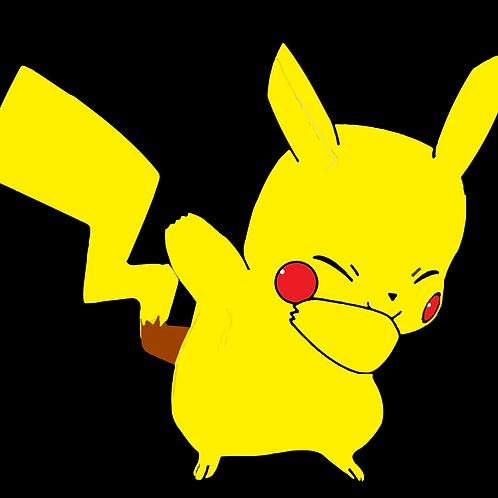 "Pikachu DAB Pokemon 3"""