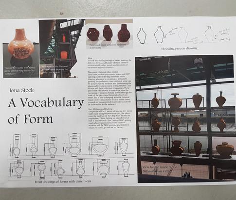 A Vocabulary of Form