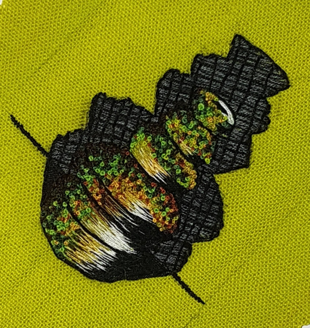 Vessel Embroidery
