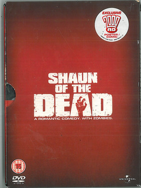 Shaun of the Dead with 2000ad Poster