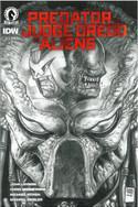 Predator vs Judge Dredd vs Aliens 3 Variant Cover