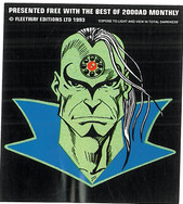 Tharg Sticker Issued with Best of 2000ad Monthly 93