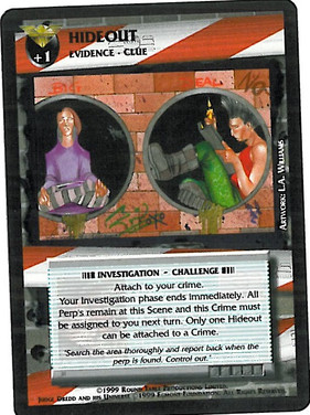 Dredd CCG: Incidents - Hideout