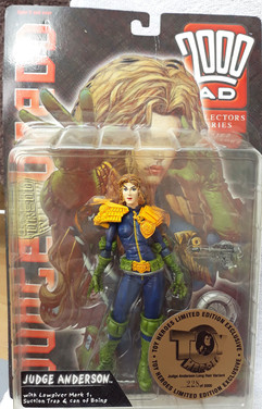 Reaction: Judge Anderson Long Hair Toy Hero Variant