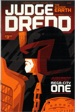 Judge Dredd Blessed Earth 4 Cover B
