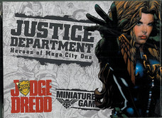 Mongoose: Boxset Justice Department Heroes of Mega-City One