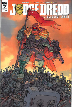 Judge Dredd Blessed Earth 7 Cover A