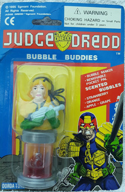 Judge Anderson with Lawgiver Bubble Buddies (String Attached)